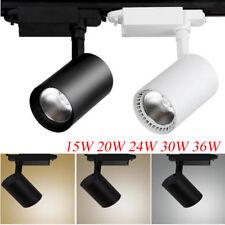 15W 20W 24W 30W 36W COB LED Track Rail Ceiling Spotlight Downlight Lamp Lighting