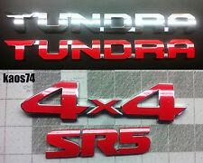 Toyota Tundra 2014 2015 2016 2017 2018 19 Emblem Overlay Decal - TRD PRO SR5 4x4