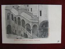 Ferrara Scala del Palazzo Municipale- anni 10/20, non viaggiata #9143