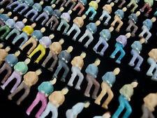 100 Stk. Figuren handbemalt nur sitzend 1:75 #5BB6-25