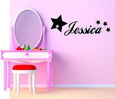 bis 100cm Wunschname Name Kindername Zimmer Aufkleber Sticker Wandtattoo No.15