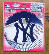 "3.5"" MLB New York Yankees  Round Decal Car Window Sticker Baseball  Licensed"
