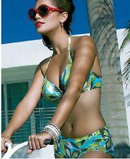 FANTASIE Carmen U/W Reggiseno Bikini Allacciatura Dietro Il Collo + pantalone corto Set-x-Small-UK-8 - advocado