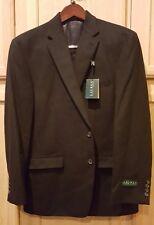 RALPH LAUREN 44R LELA14UX0011 Black 100% Camel Designer Sports Coat Jacket, $320