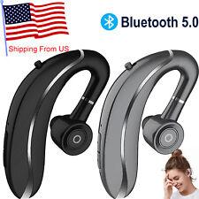 Wireless Bluetooth Headset Earpiece Handsfree Earphone for Android Smart Phone