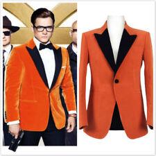 Kingsman: The Golden Circle cosplay Eggsy costumes Adult Christmas coat Jacket H