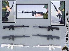 1X M16 FUSIL ASALTO AMERICANO GUERRA VIETNAM WAR ASSAULT RIFLE PLAYMOBIL SOLDADO