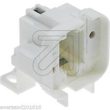 Sparlampen-Fassung G24d-2/GX24d-2  250V/2A weiß 2-Stift-Sockel