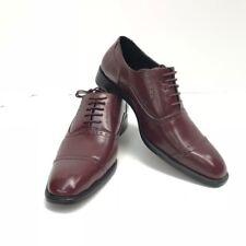 Men's Bolano Burgundy Oxford Dress Shoes Style CERI-175 US Size 8.5