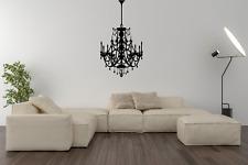 LUCE lampadario moderno Wall Art Sticker Decal Home Decor O62