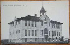 1910 Postcard: High School - Bottineau, North Dakota ND