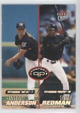 2001 Fleer Ultra 226 Jimmy Anderson Tike Redman Pittsburgh Pirates Baseball Card