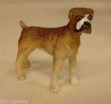 Premium Boxer Dog Miniature Figurine 1/24 Scale G Scale Diorama Item