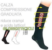 GIST CALZE A COMPRESSIONE GRADUATA BIANCO 44/47