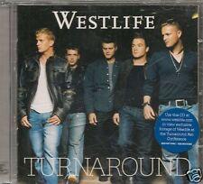 CD ALBUM 12 TITRES--WESTLIFE--TURN AROUND--2003