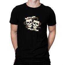 Comedy Tragedy Skulls T-shirt