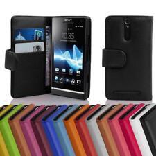 Handy Hülle für Sony Xperia S Cover Case Tasche Etui mit Kartenfächer