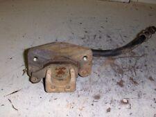 02 BOMBARDIER 650 QUEST 4X4 ATV RIGHT FRONT BRAKE CALIPER W/ LINE & PADS  R711