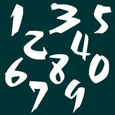 3 cm Zahlen Aufkleber Klebezahlen Ziffern Sticker 1 bis 200 Stück weiß SA-28