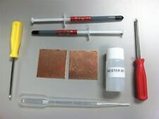 Playstation 3 PS3 Slim YLOD Shims Fix Repair Kit Thermal Paste Kester 951 Flux