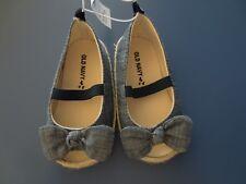 Infant Toddler 0-3*6-12*18-24 months Old Navy Blue Denim Espadrilles Sandals Bow