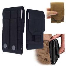 Bolsa táctica Universal Cinturón de Bucle Gancho De Teléfono Cubierta Estuche Petaca todos los teléfonos móviles