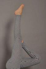 Legging leggings imprimé print ronds noir et blanc retro rétro M ou L ou XL
