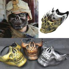 Airsoft Game Hunting Biker Ski Skull Skeleton Half Face Protect Gear Guard Mask