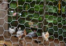 Galvanised Welded Wire Mesh Chicken Run Coop Rabbit Hutch Fencing Pet Netting