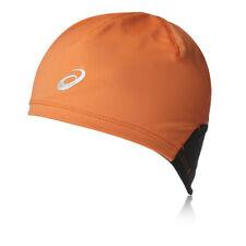 Asics Unisex Orange Hiver Chaud Running Sport Bonnet Chapeau