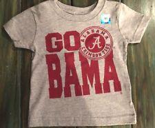 University of Alabama Grey Short Sleeve Infant Tee