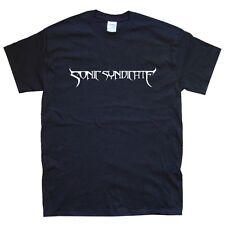 SONIC SYNDICATE T-SHIRT sizes S M L XL XXL colours Black, White