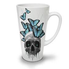 Skull Sugar Eyes Art NEW White Tea Coffee Latte Mug 12 17 oz | Wellcoda