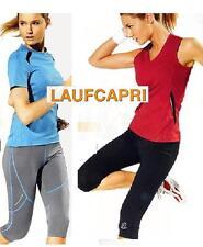Damen  Sports LaufcapriHose Laufhose Lauf Sport Hose Fitnesshose  Crivit 3/4