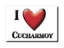MAGNETS FRANCE - PROVENCE ALPES CÔTE D'AZUR I LOVE CUCHARMOY (SEINE ET MARNE)