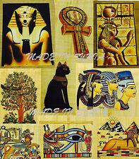 Papyrus painting Paper (No Frame) 30 x 23 cm +-