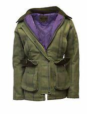 Walker & Hawkes Ladies Derby Tweed Shooting Country Jacket Coat PURPLE STRIPE