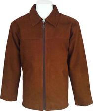 UNICORN LONDON Mens Tan Genuine Leather Jacket #D5