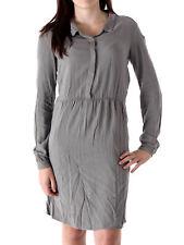 Hartford robe blouses robe Dress rimbaud gris col Boutonnage