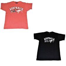 Men Women Unisex Souvenir T-shirt 100% Cotton Australia Australian Flag Top Tee