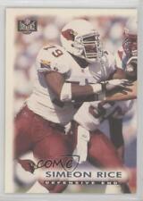 1997 Score Board NFL Experience #5 Simeon Rice Arizona Cardinals Football Card