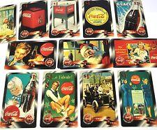 Coca Cola Coke Sprint USA 1$ Telefonkarten 1996 viele Motive Phone Cards
