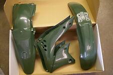 RACE TECH GRN KAWASAKI PLASTIC KIT KXF250 KX250F FENDERS SHROUDS 2006 2007 2008