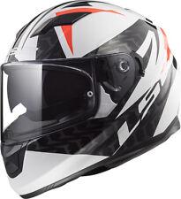 LS2 FF320 STREAM EVO COMMANDER DUAL VISOR PINLOCK FULL FACE MOTORCYCLE  HELMET