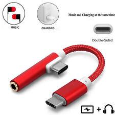 2in1 Tipo-C 3.5mm Cuffie Adattatore jack USB-C Caricatore audio Cavo di ricarica