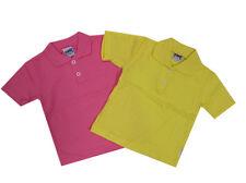 %%Kanz%% T-Shirt Polo-Shirt Baby Gr.68,74,80 Zitronengelb oder Pink NEU!!