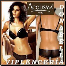 ACOUSMA SET NEGRO BRA+BRAGA Tallas: 85C/90C + REGALO/GIFT**