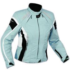 Impermeable chaqueta de la Moto 4 Seasons Scooter Señora personalizada Azul