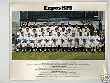Montreal Expos 1973 SGA Stadium Give Away 8 x 10 Photo