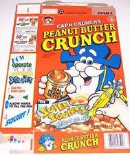 1994 Cap'n Crunch's Peanut Butt Crunch Cereal Box cc072